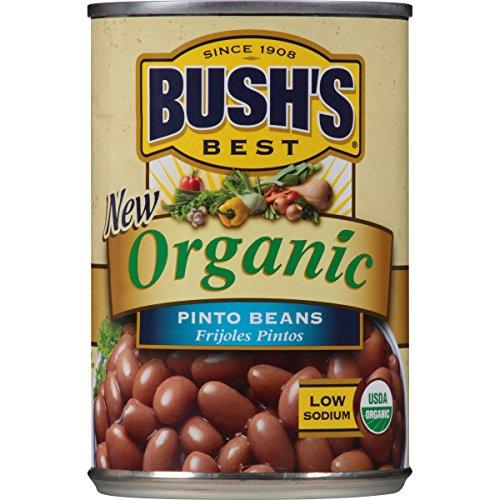 Bush's Best Organic Pinto Beans, 15 oz