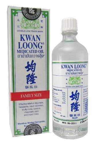 KWAN LOONG Medicated Oil for Fast Pain Relief 57 ml Family Size by Kwan Loong