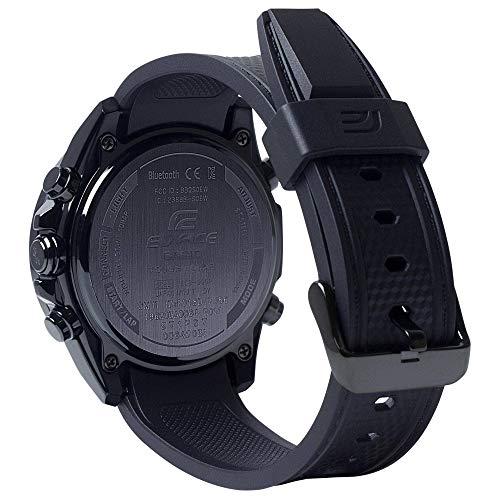 Casio Men's Tough Solar Edifice Smartphone Link Bluetooth Stainless Steel Watch ECB-900PB-1ACF
