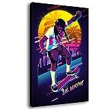 Legends Never Die Rap Sänger Lil Wayne Hip-Hop-Kunstdruck