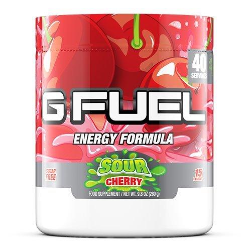 G Fuel Sour Cherry Tub (40 Servings) Elite Energy and Endurance Formula