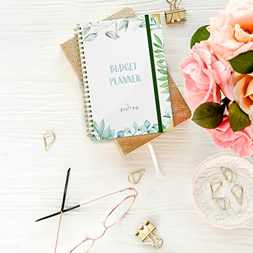 Product Image 7: Simplified Monthly Budget Planner – Easy Use 12 Month Financial Organizer with Expense Tracker Notebook – The 2021 Monthly Money Budgeting Book That Manages Your Finances Effectively