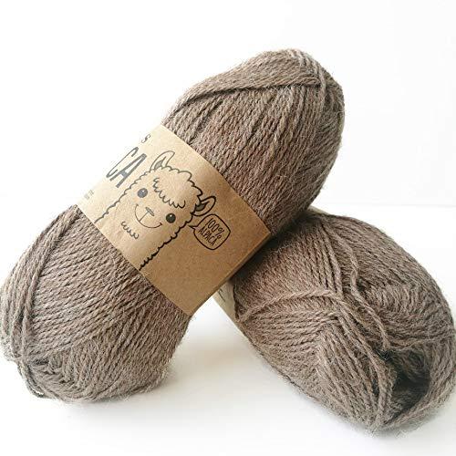 Pure Alpaca Wool Yarn Drops Alpaca,…