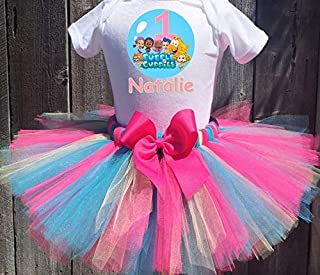 Bubble Guppies Group Personalized Birthday Outfit Tutu Set