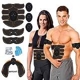 Ceinture Abdominale Électrostimulation Homme Femme, Appareil Stimulateur Musculation Musculaire...