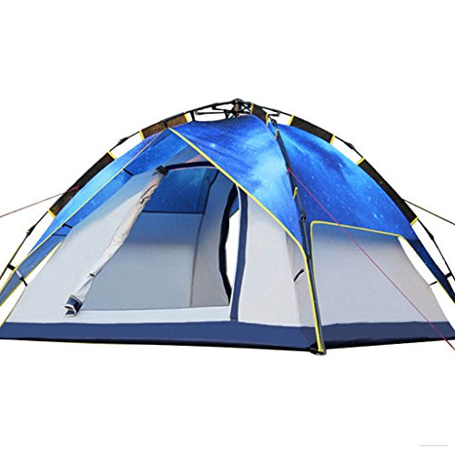 P&B Ping Bu Qing Yun Outdoor 3-4 People Double Camping Automatic Tents Starry tent tents for camping