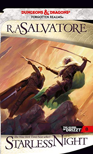 Starless Night: Starless Night Legacy Of The Drow 2 (The Legend of Drizzt, Band 8)