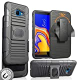 Galaxy J4 Core/Plus Case with Clip, Nakedcellphone Black