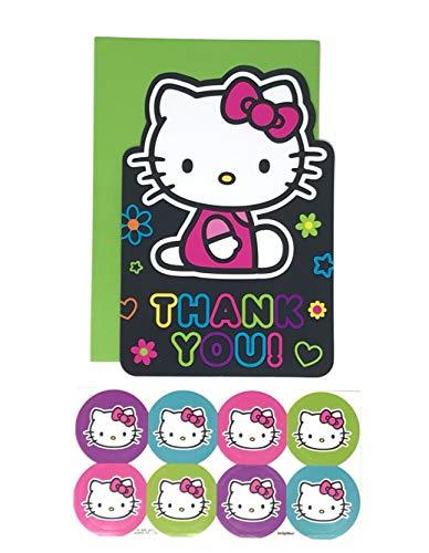Hello Kitty Tween carte postale Cartes de remerciement