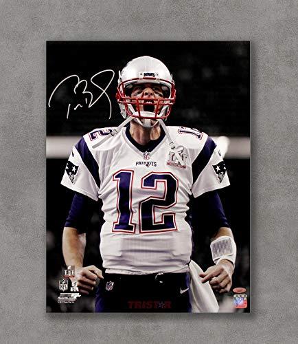 Kai'Sa Tom Brady Patriots Autographed Replica Poster Art Print Posters,18''×24'' Unframed Poster Print