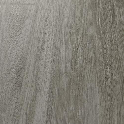 neu.holz Pisos de Vinilo-PVC Decorativo Diseño de Pisos laminados Suelo Autoadhesivo 7 planchas Decorativas = 0,975 m² Roble desteñido 'Stonewashed Oak'