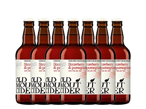 Old Mout Granatapfel & Erdbeer Cider 12x500ml Pfandfrei!