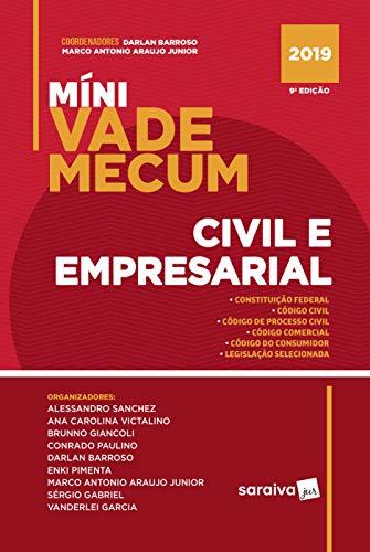 Míni Vade Mecum civil e empresarial - 9ª edição de 2019