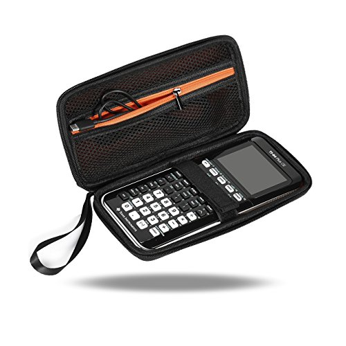 OFKPO Graphing Calculator Texas Instruments TI-84 Plus/CE Funda Protectora Estuche Bolso, Negro