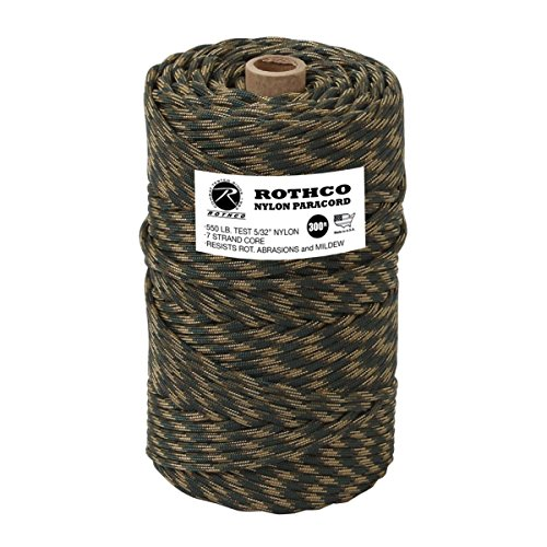 Rothco 300 ft of 550 Paracord, Mil-Spec Compliant para Cord