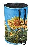 Meister Springsack 120 l - Fröhlich buntes Sonnenblumen-Motiv - Selbststehend