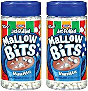 Kraft Jet-Puffed Vanilla Mallow Bits Set of 2 Marshmallows!