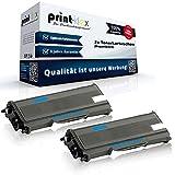 2x Cartuchos Compatibles para Brother HL de l 2300Series HL-L 2300D HL-L 2320D HL-L 2321D HL-L 2340DW HL-L 2360DN HL-L 2360DW HL-L 2361DN HL-L 2365DW HL-L 2380DW tn2360–Doble pack