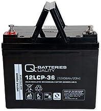 Q-Batteries 12LCP-36 / 12V – 36Ah Blei Akku Zyklentyp AGM – Deep Cycle VRLA