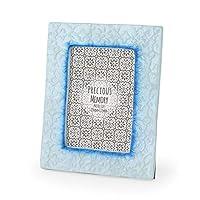 『カピスフォトフレーム エンボス リタ』:ブルー 【かわいい おしゃれ フォトフレーム 壁掛け 写真立て 写真たて プレゼント 額縁 額 フレーム アジアン ポストカード 写真 カピスシェル カピス貝 貝殻 貝 シェル カピス 北欧】