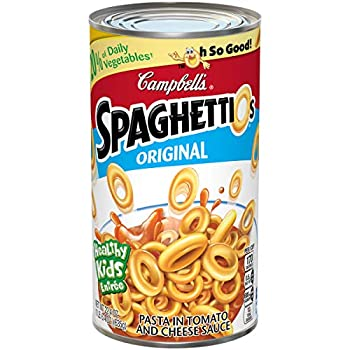 Campbell s SpaghettiOs Canned Pasta Original 22.4 oz Can  Pack of 12