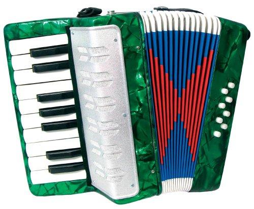 Scarlatti Kinder-Akkordeon Grün
