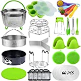 23 Pcs Pressure Cooker Accessories Set Compatible with Instant Pot Accessories 6 Qt 8 Quart, 2 Steamer...