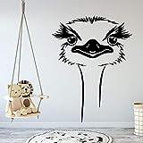 wZUN Pegatinas de Pared de Animales de Moda extraíbles Autoadhesivas decoración de habitación de guardería Fondo calcomanías de Arte de Pared 42X55 cm