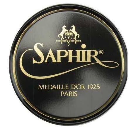 Saphir Medaille D'or 1925 Pate De Luxe Black 50ml Wax Shoe Polish