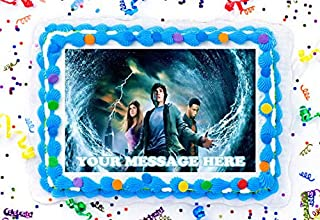 """Percy Jackson Cake Topper Edible Image Personalized Cupcakes Frosting Sugar Sheet (2"""" Cupcakes (12))"""