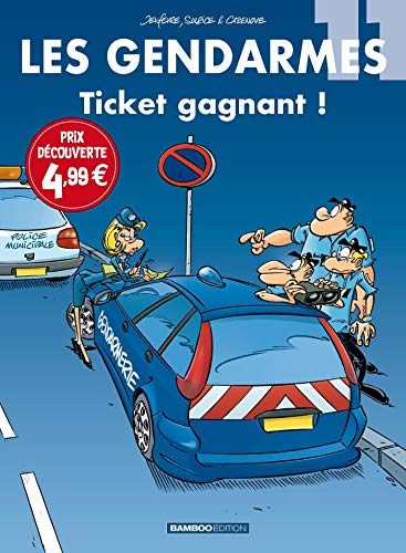 Les Gendarmes - tome 11 - top humour 2021: Ticket gagnant !
