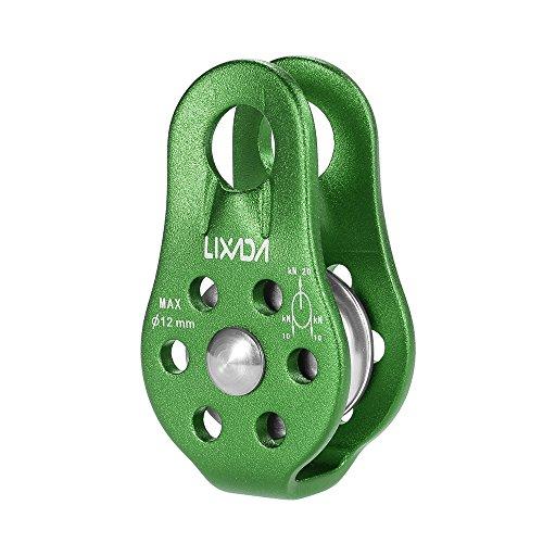 Lixada Seilrolle 20KN Umlenkrolle für Seile bis 12 mm Durchmesser