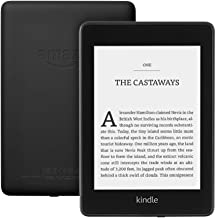 """Kindle Paperwhite   Waterproof, 6"""" High-Resolution Display - Wi-Fi + Free mobile connectivity, 32 GB—without Ads—Black"""