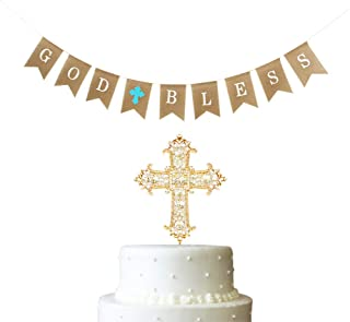 Consumer Electronics Custom Communion Crucifixion Silver And Blue Striped Party Backgrounds Computer Print Party Backdrop Background