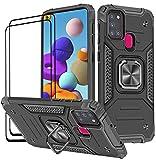 KANSI Hülle kompatibel für Samsung Galaxy A21S,