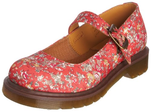 Dr. Martens Mary1 13852801, Damen Mary Jane Ballerina, coral meadow, 35.5 EU / 3 UK