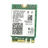Ziyituod Tarjeta PCIe WiFi, adaptador de red inalámbrico Bluetooth PCI Express, tarjeta Wi-Fi de doble banda PCI-e inalámbrico para escritorio (AX200NGW)