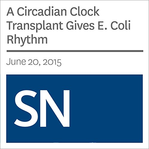 A Circadian Clock Transplant Gives E. Coli Rhythm  By  cover art