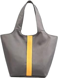 Bageek Womens Nylon Tote Shoulder Handbag Large Capacity Splash Roof Top Handle Bag