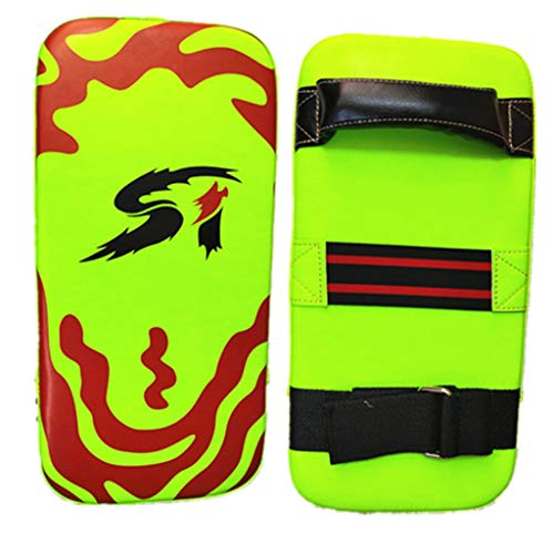 Fitness & Yoga Equipment, Taekwondo Boxing Kicking Strike Pad Hand Feet Foots Target Punching Training, Outdoor&Sport HotSales (Green)