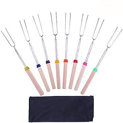 Diwenhouse Marshmallow Roasting Sticks Extendab...
