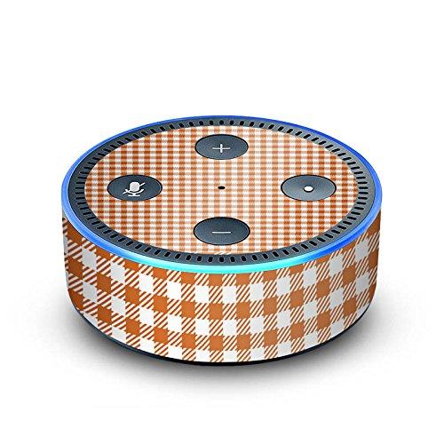 Amazon Echo Dot 2.Generation Folie Skin Sticker aus Vinyl-Folie Karo Picknick Decke