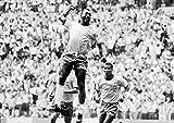 Poster Pele Brésil Legende Football Classic Sport Wall Art