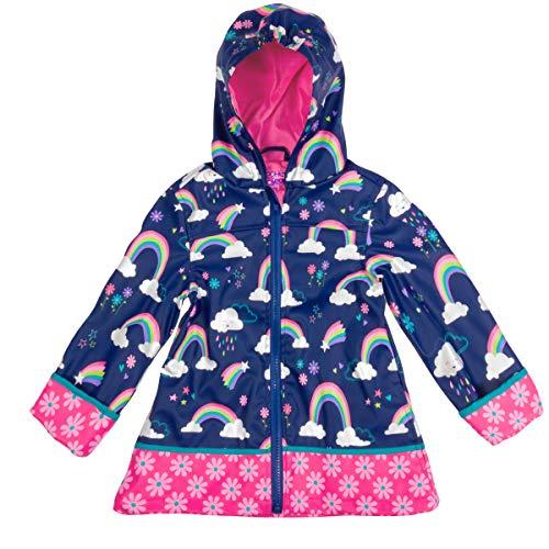 Stephen Josheph Gifts baby girls Princess Raincoat, Rainbow, 7 8 US