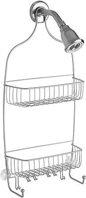 InterDesign シャワーラック 風呂 バスルーム Raphael XL サイズ シルバー 02846EJ
