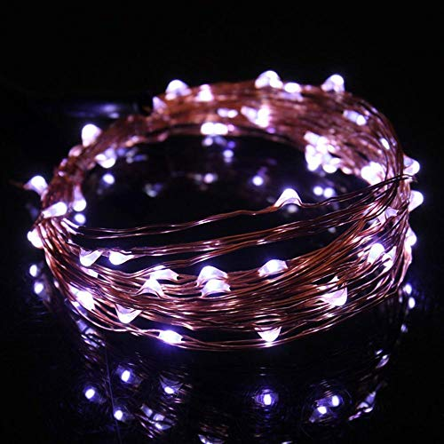 5 meter 50 lichtjes USB koperen snoer decoratieve verlichting LED creatieve party decoratie lichtketting wit