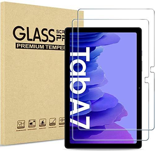 Aswant Samsung Tab A7 2020 Schutzfolie 9H Gehärtetem Glas Schutzfolie, Kratzfeste Wasserdichte HD Panzerglas für Samsung Galaxy Tab A7 10.4 Zoll 2020 SM-T500 / SM-T505 - [2 Stück]