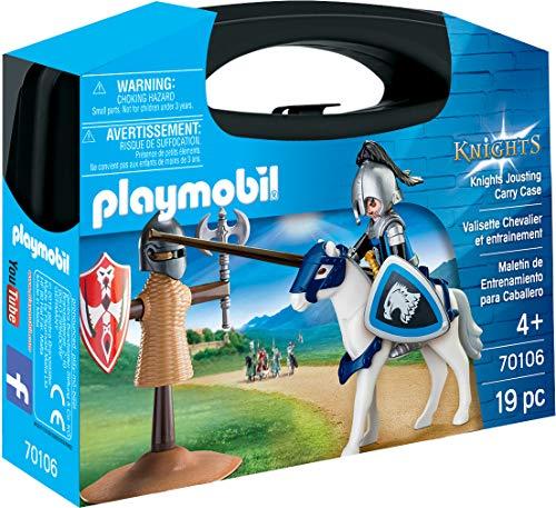 Playmobil 70106 Koffer mit Ritter und Training