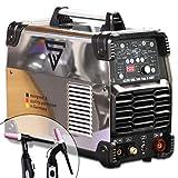 STAHLWERK AC/DC WIG 200 Puls D IGBT - Saldatrice digitale con 200 Ampere TIG & MMA, memoria per lavoro, alluminio e lamiera sottile, colore: Bianco