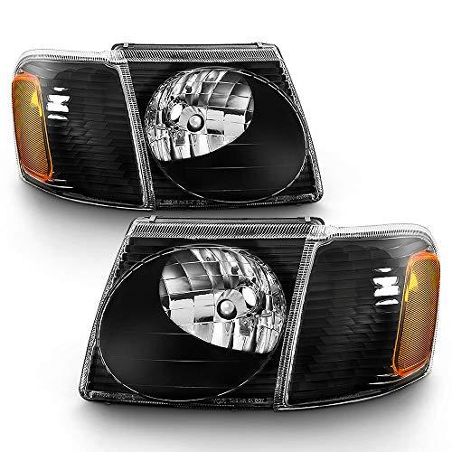 ACANII - For 2001-2005 Ford Explorer Sport/Sport Trac Headlights Headlamps...